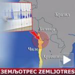 Katastrofalan zemljotres u Čileu