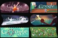 Google Doodle  ovi koji su obeleili Olimpijske igre u Londonu