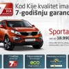 Kod Kije kvalitet ima 7-godinju garanciju; Sportage, Ceed, Soul i Sorento na akciji