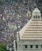 Nepregledna reka ljudi na protestu u Japanu