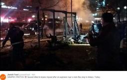 U eksploziji u Ankari 32 mrtvih, 75 ranjenih; Kurdi odgovorni za napad