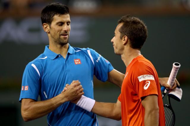 Novak: Smeč, meč lopte, ne sme to da mi se dešava