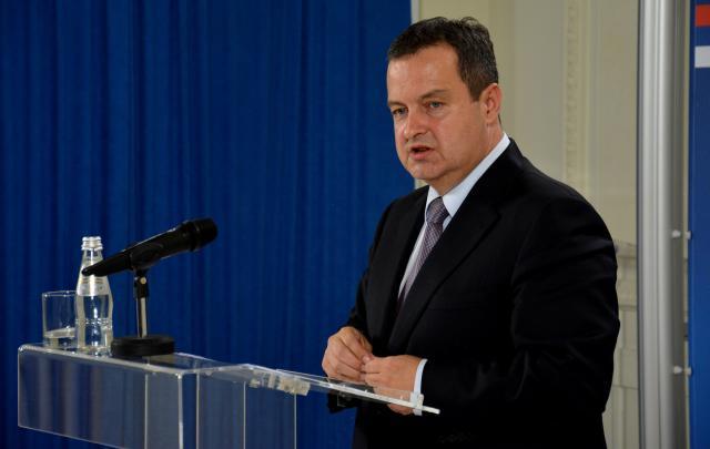 Dačić ambasadorima SAD: A da je spomenuto Skoplje, Epir?