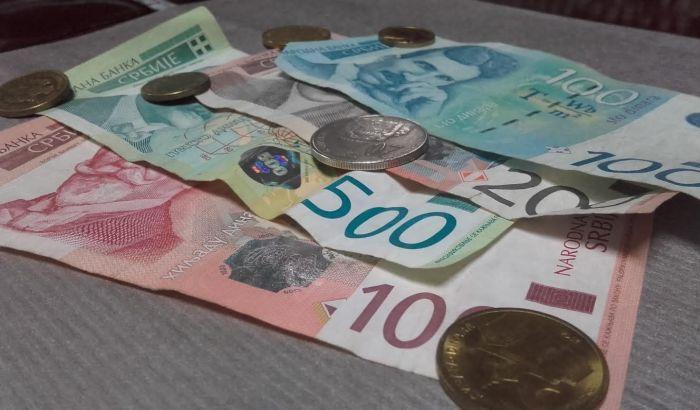 Dinar u ponedeljak najjači ove godine