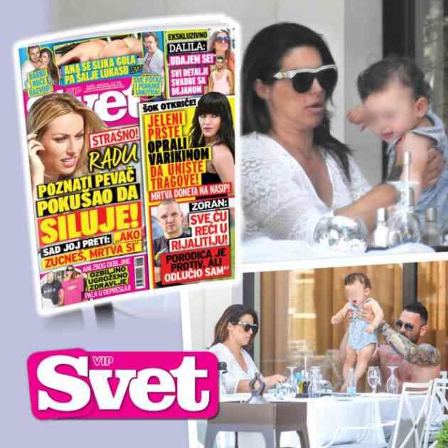 EKSKLUZIVNI PAPARAZZO u novom broju SVETA: Ovako Seka Aleksić provodi vreme sa sinom u Budvi!