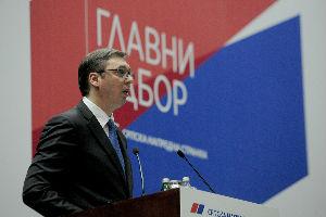 Glavni odbor SNS jednoglasno za Aleksandra Vučića