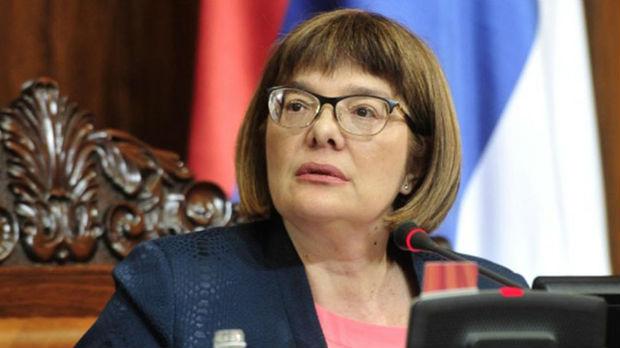 Gojkovićeva negira da je građanima zabranjen ulaz u Skupštinu