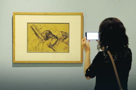 Izložba dela čuvenog umetnika: DEGA I NJEGOVE BALERINE U BEOGRADU