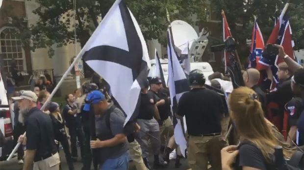 Marš desničara u Virdžiniji, jedna osoba poginula