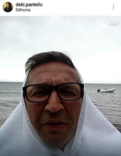 NAŠ VODITELJ USRED URAGANA U GRČKOJ Otišao na odmor, a dočekala ga NEZAPAMĆENA OLUJA: Plaže su POTOPLJENE!