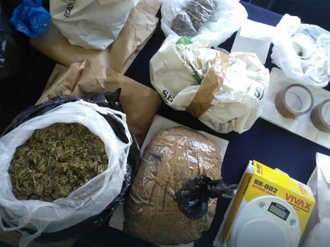 Na granici BiH i Hrvatske pronađeno oko 26 kilograma marihuane