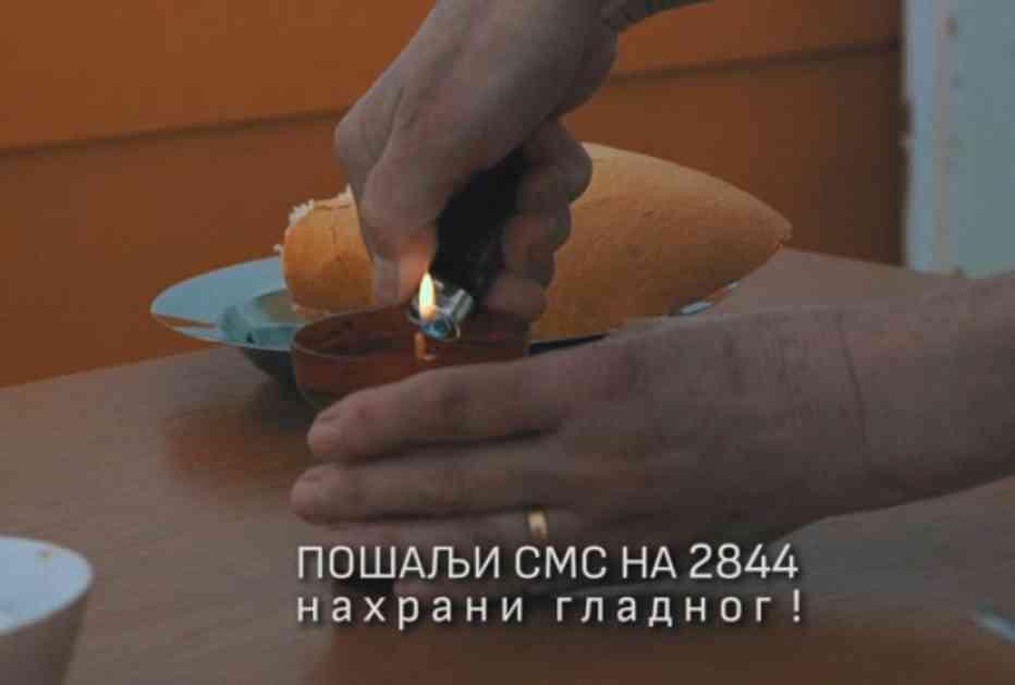 Nahrani gladnog: Pesma za pomoć crkvenoj narodnoj kuhinji (VIDEO)