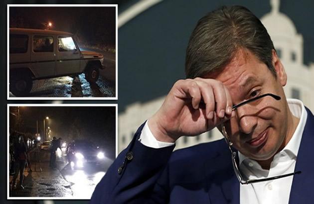 Nalozena DNK analiza automobila sa oruzjem kod kuce Aleksandra Vucica na tere...