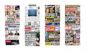 Naslovne strane dnevnih listova: Prelistavanje štampe za 21. mart 2017. godine!