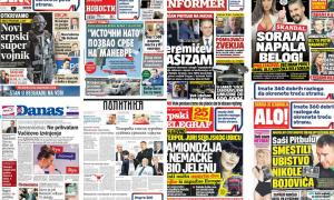 Naslovne strane dnevnih listova: Prelistavanje štampe za 22. mart 2017. godine!