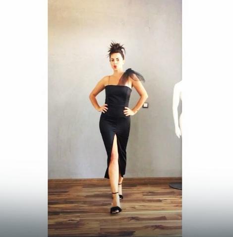 POTPUNA TRANSFORMACIJA Lukasova Sonja hoda kao manekenka sa šlicem do međunožja