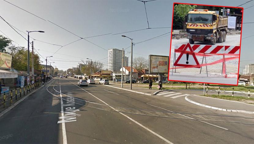 Počinje rekonstrukcija Ulice Mije Kovačevića: Postavljaju se savremene tramvajske šine