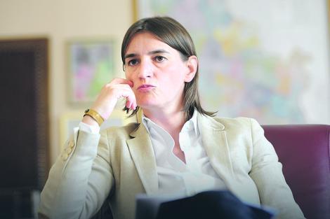 Pokret: Brnabić da počne da radi na korist Srbije, ne za CV