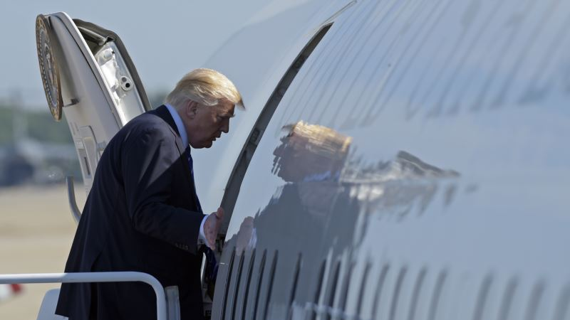 Predsednik Tramp krenuo u prvu međunarodnu posetu