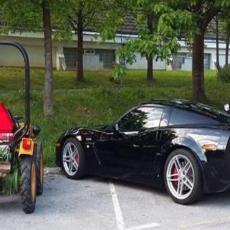 SAMO BAHATO, SAMO BEZOBRAZNO: Fejsbuk korisnici su besni na OVOG vozača,imaju SAVRŠEN razlog (FOTO)
