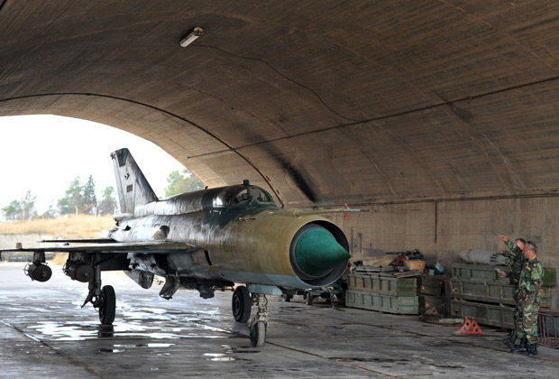 Spasen sirijski pilot