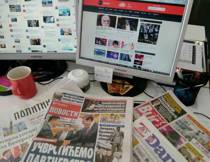Teniser na čelu Novosti, Dmitrović otišao