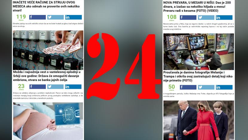 Udarne vesti u Srbiji u poslednjih 24 sata