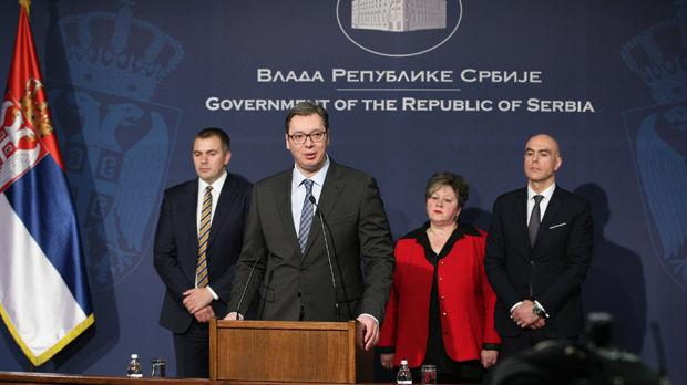Vučić: Da sam ja rekao nešto o ujedinjenju Srba u regionu, visio bih u Briselu umesto zastava