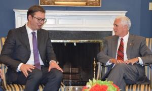 Vučić nakon sastanka sa Pensom: SAD nisu neprijatelj Srbije