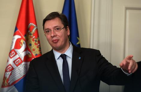 Vučić sa potpredsednikom Pensom u Beloj kući