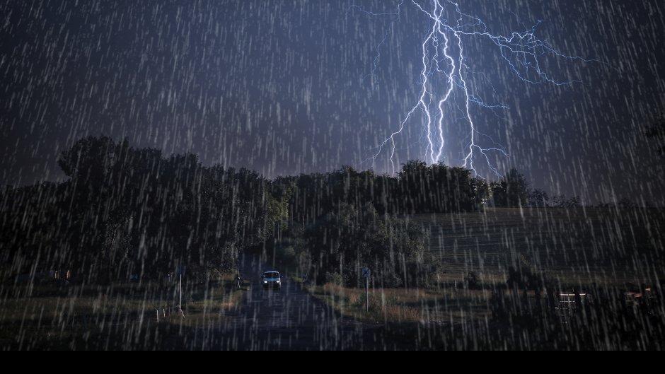Žuti alarm u Srbiji: Jak ciklon nam donosi oluju!