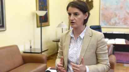 ANA BRNABIĆ ZA SI-EN-EN: Vlada Srbije je PROSRPSKA,�nije ni proamerička ni proruska!