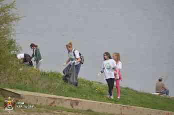 Akcija čišćenja priobalja Gružanskog jezera