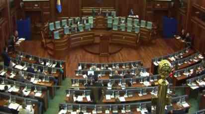 Albanski poslanici odbacuju fusnotu u nazivu za Kosovo