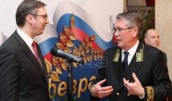 Ambasada Rusije obeležila Dan branilaca otadžbine