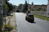 Asfaltirana Prešernova ulica