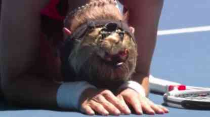Croatian in victory tears: She survived the worst family violence, and now she is playing Serena Williams for the finals! (VIDEO)