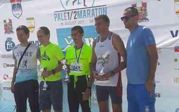 Darko Živanović trijumfovao na prvom Palskom polumaratonu