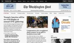 Demokratija umire u tami, novi moto Vašington posta