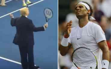 Donald Tramp rekao da mu je Nadal omiljeni teniser, a Španac ga isprozivao kao niko do sada!