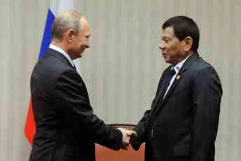 Duterte Putinu: Doputovao sam da bih dobio Vašu podršku i zatražim pomoć