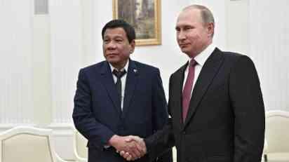 Duterte Putinu: Filipinima potrebno moderno oružje protiv ID