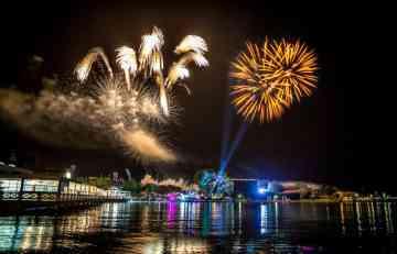 EXIT LETO LJUBAVI JE POČELO! Spektakularnim vatrometom otvoren prvi SEA STAR festival u Umagu! (FOTO)