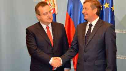 Erjavec: Slovenija čvrst partner Srbije na putu ka EU