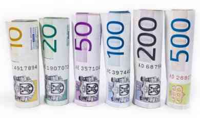 Evro danas 123,99 dinara