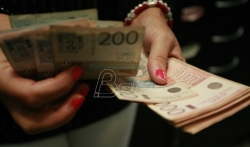 Evro u ponedeljak 122,76 dinara