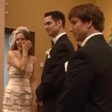 GOSTI ZANEMELI OD ŠOKA: Ostavio je mladu PRED OLTAROM da bi uradio OVO, i to na svom venčanju! (VIDEO)