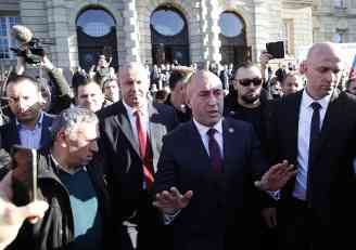 HARADINAJ PERSISTANT IN HIS THREATS: When i become a prime minister, there won't be Serbia on Kosovo