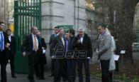 Han i Devenport obišli Botaničku baštu u Beogradu