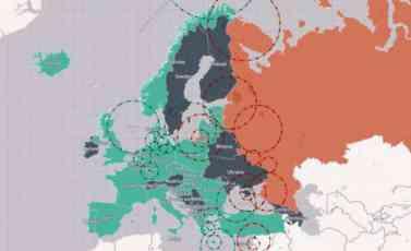 INTERAKTIVNA MAPA OTKRIVA: Evo kako bi zaista izgledao rat NATO i Rusije